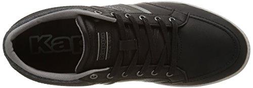 Kappa Cranston, Herren Sneakers Schwarz (919/black/mid Grey/lt Grey)