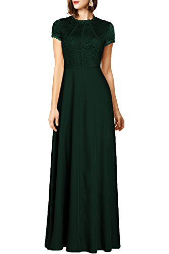 WOOSEA Womens Floral Wedding Bridesmaid