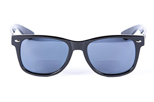 """Lovin Rays"" Classic Polarized Nearly Invisible Line Bifocal Sunglasses"