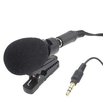 YONIS Mini micrófono portátil Smartphone Tablet estéreo Soporte ...