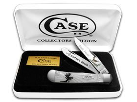 CASE XX Collectors EDT 1 1000 Buck Fever Weiß Pearl Pearl Pearl Trapper Pocket Knife Knives B00MS51YIC     | Vorzüglich  51b959