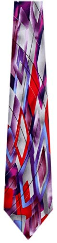 JG-XL-6211 - Jerry Garcia Extra Long Polyester XL Big and Tall Designer Necktie Ties (Jerry Garcia Extra Long Ties)