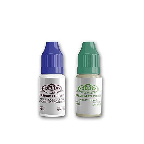 Delta Kits Premium Pit Resin & Polish Combo-7 ml ea ()