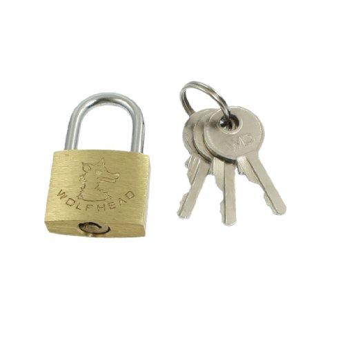 uxcell Cabinet Jewlery Packsack Padlock