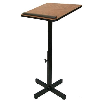 Amplivox W330 - Xpediter Adjustable Lectern Stand W330-MH