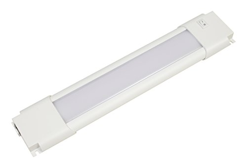 9 inch slim convertible LED under cabinet light fixture 4.6watts 250 lumens white light - - Cabinet Inch Fixture 9 Under