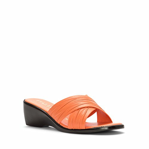 Italian Shoemakers Orange 168 Women's Sandal Slide 6SY6r