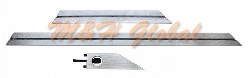Universal Bevel Protractor w/ Magnifier 360 Degree Blades Fine Adjustment