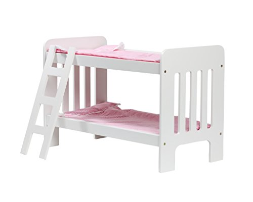 Cinderella USA Doll Bunk Bed With Ladder And Bedding (Assembly required)
