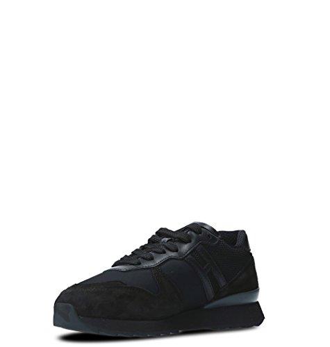 HXW2610Y930H9OB999 Hogan Gamuza Zapatillas Negro Mujer Aq7wqO6