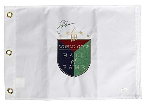 World Golf Hall Of Fame - Jack Nicklaus Autographed Signed World Golf Hall Of Fame Pin Flag - JSA Authentic