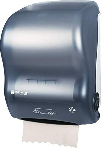 (San Jamar T7000 Simplicity Mechanical Hands Free Roll Towel Dispenser, Fits 8