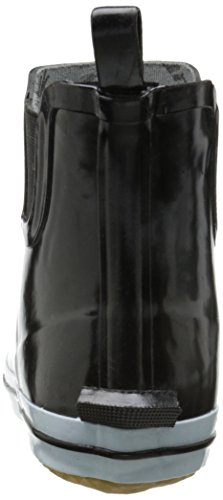 Kamik Womens Sharon Ankle-High Rain Boot Black/White YrMbA