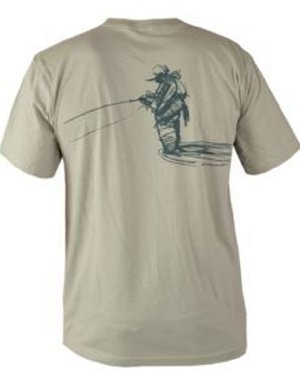 Fish Cotton Organic Tee - Fishpond Blood Knot T-Shirt Organic Cotton Comfortable Short Sleeve- XXL