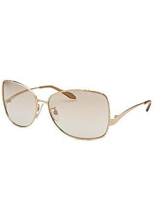 Roberto Cavalli 660 28l Gold Menta Square Sunglasses