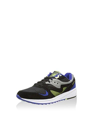 SAUCONY ORIGINALS Grid 8000 Cl, Sneaker Uomo Nero/Grigio/Blu Indaco