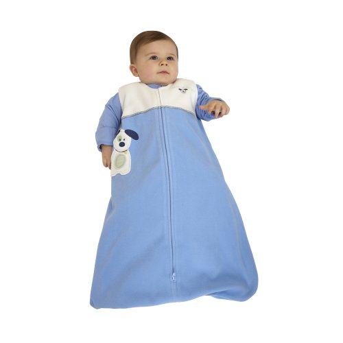 HALO SleepSack Micro Fleece Wearable Blanket, Blue Pup Pals, X Large, Baby & Kids Zone