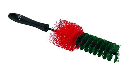 Sponges, Cloths & Brushes Vikan 525352 Alloy Wheel Spoke Cleaning Brush Stiff Bristle Chemical Resistant Brushes