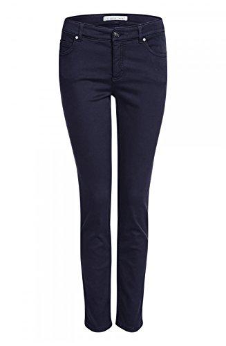 Oui Women's Straight Leg Jeans negro