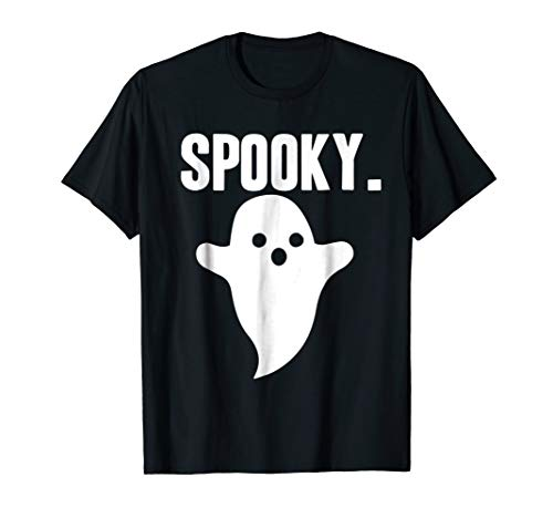 Spooky Ghost Shirt Funny Cute Halloween Toddler Kids Gift