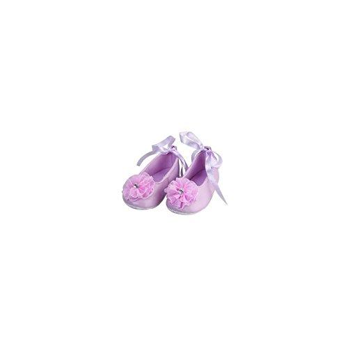 Bailarina suave bebé de 0a 12meses, Modelo piel rosa 3/6Meses, 6/9Meses, 9–12meses rosa rosa Talla:6/9 mois