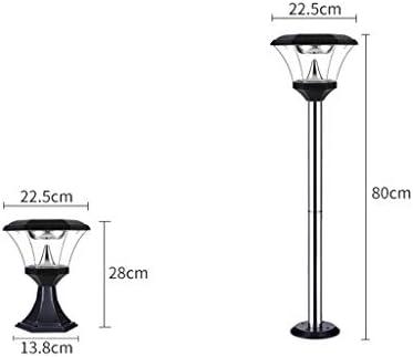 Lámparas Farola Lámpara de jardín de luz de exterior Lámpara de pie de jardín Led de jardín impermeable al aire libre Villa Luz de puerta Lámpara de pie lluminacion Exterior (Color :