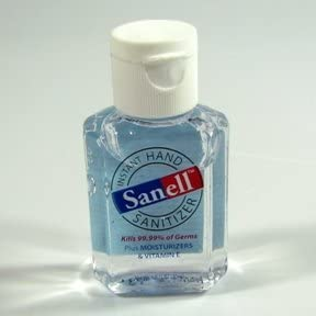 Amazon Com Sanell Hand Sanitizer 1 Oz 40 Per Pack Health