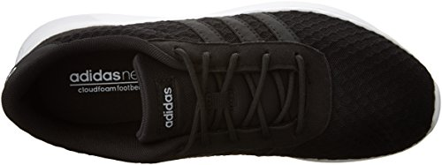 adidas Women's Lite Racer W Sneaker, Black/White, 8.5 M US by adidas (Image #8)