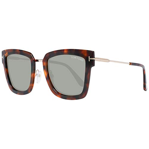 Sunglasses Tom Ford FT 0573 Lara- 02 55A coloured havana / smoke