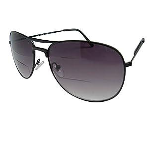 Rodeo X2 Bi-focal Aviator Sun Reader Sunglasses (Slate, 2.75)