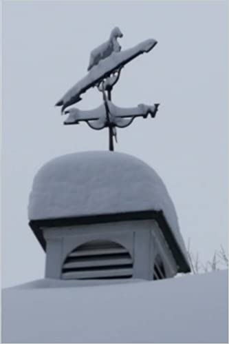 Journal Weathervane Equine Horse Snowy Winter Day: (Notebook, Diary, Blank Book) (Seasonal Winter Photo Journals Notebooks Diaries)