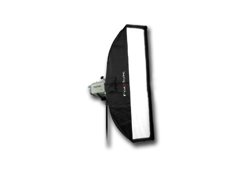 Fotodiox Pro 12x56' Strip Softbox for Studio Strobe/Flash with Soft Diffuser and Dedicated Speedring, for Photogenic Studio Max III 160, 320, Powerlight PL1250, PL1250DR, PL1200DRUV, PL2500DRUV, PL625DR, PL624DRC, PL1250DRC, Solair 500, 1000 Strobe Flash Light, Soft box, Speed Ring