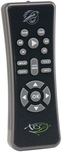 Pelican Xbox 360 TSZ Slim Line DVD Remote ()