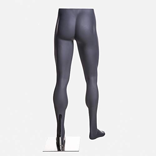 (MZ-HEF16LEG) High end Quality. Eye Catching Male Headless Mannequin Leg, Athletic Style. Standing Pose. by Roxy Display (Image #2)