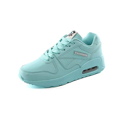 Mujer Zapatos Zapatos Zapatos para Plano Correr De Deportes Casuales Aire AIMENGA Moonlight Zapatos Planos Cojines De Fondo 8dqUxII6w1