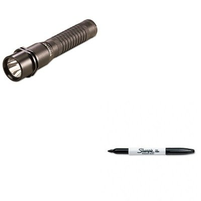 KITLGT74302SAN30001 - Value Kit - Streamlight Inc Strion LED Rechargeable Flashlight (LGT74302) and Sharpie Permanent Marker (SAN30001)