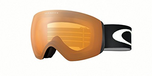 Oakley OO7064-22 Flight Deck XM Eyewear, Matte Black, Persimmon Lens (Flight Deck Helmet)