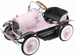 Deluxe Pedal Car (Kalee Kids Play Vehicles Deluxe Roadster Pedal Car Pink)