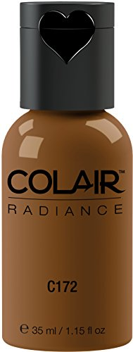 Dinair Airbrush Makeup Foundation | Cocoa | Colair RADIANCE: Satin | 1.15 oz