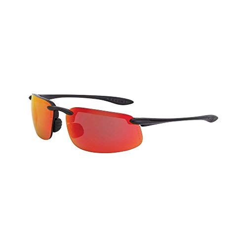 Crossfire Eyewear 2169 ES4 Safety Glasses High Definition Red Mirror Lens (6 Pack)
