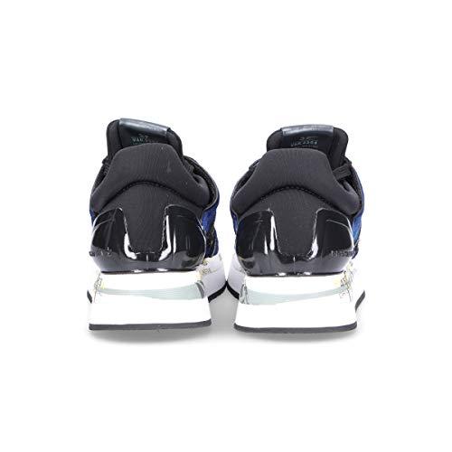 Tessuto Liz3354 Donna Sneakers Premiata Blu FwaXX0