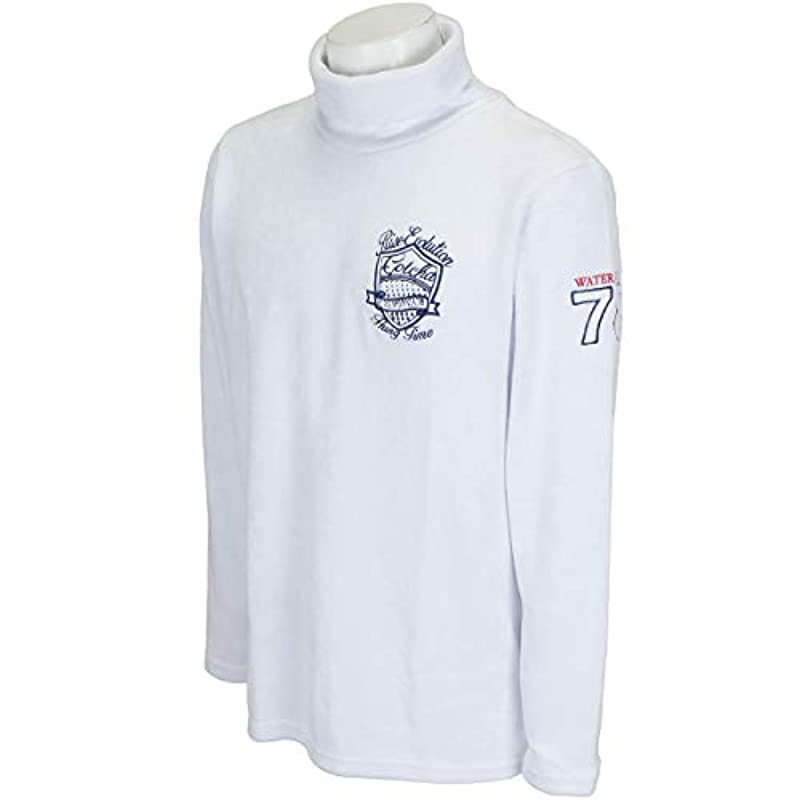 [GOTCHA 골프] GOTCHA GOLF 셔츠 긴 소매 뒤 알루미늄 《샤기》 터틀 언더 193GG1103