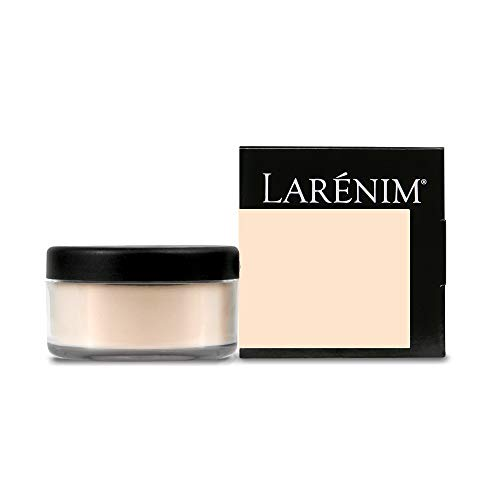 Powder Finishing Silk - Larénim Mineral Silk Loose Powder Light Medium | For a Flawless Matte Finish & Dewy Glow | Paraben, Phthalate, Talc & Gluten Free | Lt-Med Color | 5g