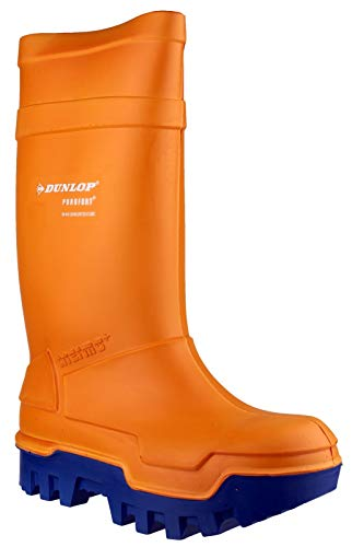 Dunlop Orange Thermo Shoes, S5