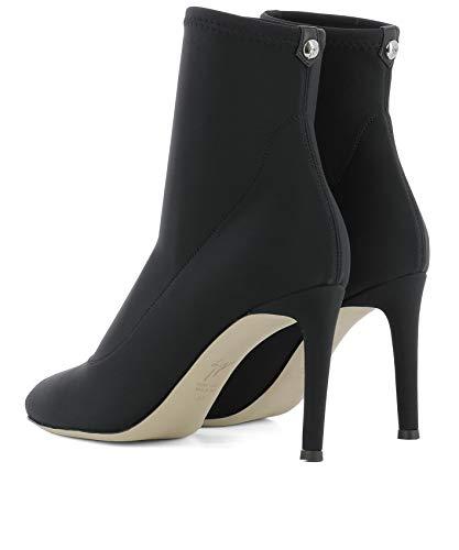 Design E870013002 Femme Bottines Zanotti Giuseppe Noir Polyamide 54wgpqtnx