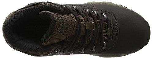 Hi-Tec Cascadia Waterproof Womens, Zapatos de High Rise Senderismo Para Mujer Marrón (Dark Chocolate 041)
