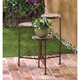 Rustic Triple Planter Stand Review