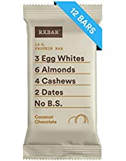 RXBAR, Coconut Chocolate, Protein Bar, 1.83 Ounce (Pack of 12) Breakfast Bar, High Protein Snack