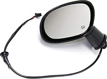 Exterior Power Heated Manual Folding Mirror Black LH Side for Challenger New