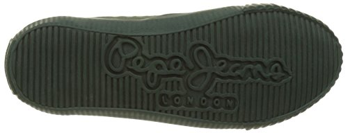 Pepe Jeans London Industry Routes Boys, Zapatillas para Niños Verde (Iron)